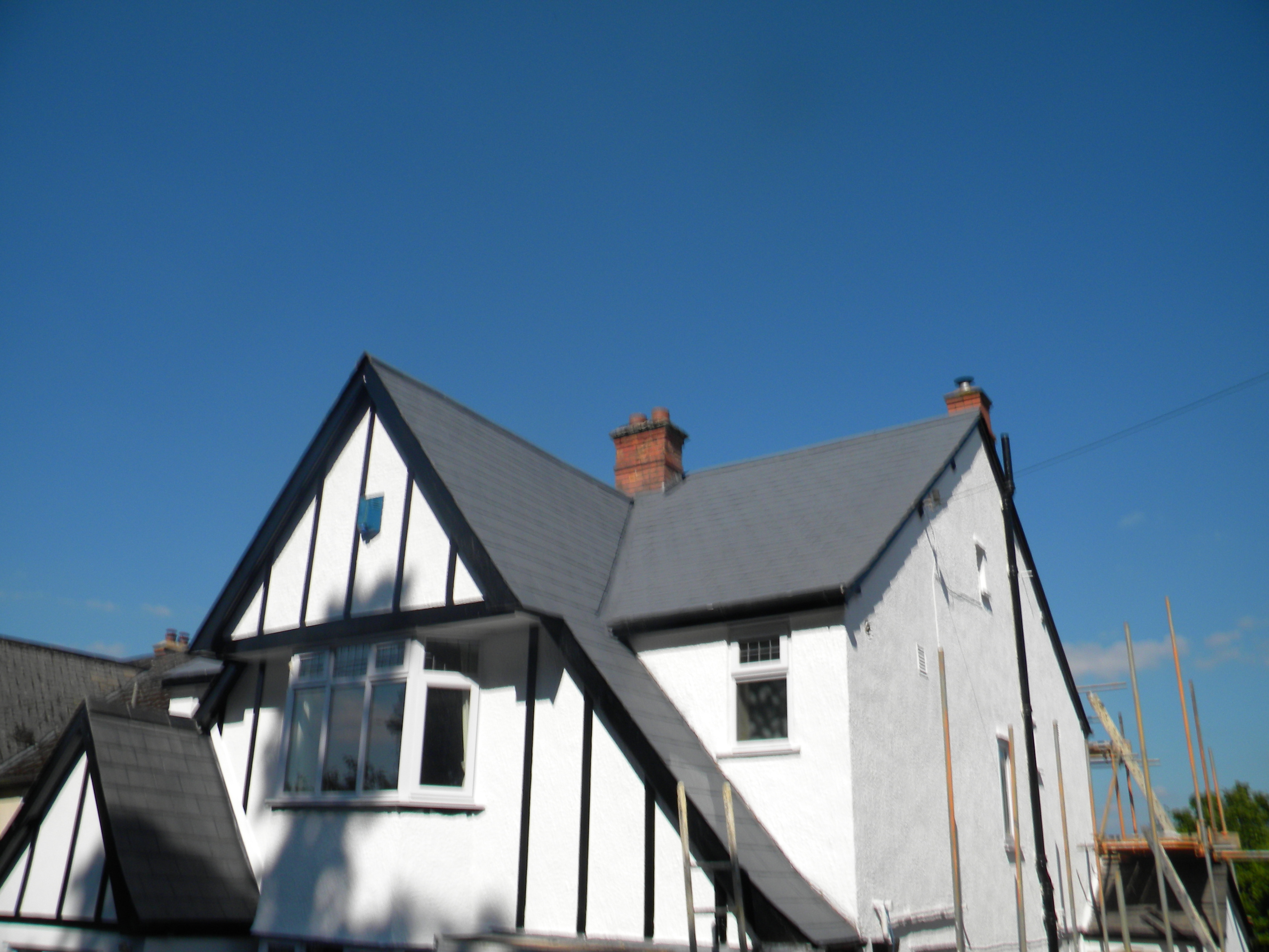 Roof And Exterior Wall Repairs
